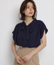 AG by aquagirl/【洗える】【Lサイズあり】ボウタイブラウス/502363165