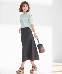 JIYU-KU /【洗える】LINEN OX スカート/502363420