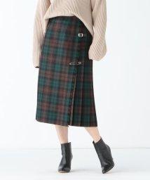 Demi-Luxe BEAMS/O'NEIL OF DUBLIN / ブラウンウォッチ キルトスカート/501891885