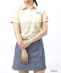 Samantha Thavasa UNDER25&NO.7/ダンボ総柄プリントポロシャツ/501999174