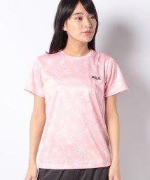 FILA/【FILA】PEメッシュペイント柄Tシャツ/502004502