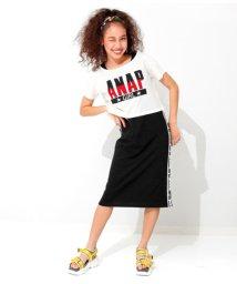 ANAP GiRL/クロップドTシャツ付ロングワンピース/502326988