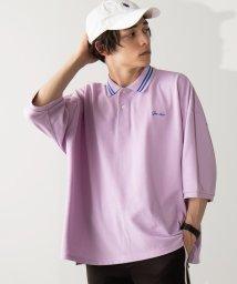 WEGO/カラーラインビッグポロシャツ(5)/502354039