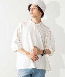 WEGO/WEGO/カラーラインビッグ5分袖ポロシャツ/502354039