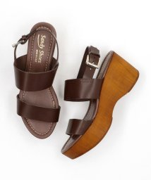 green label relaxing/SANDY SHOES FFC WEDGE サンダル/502357750