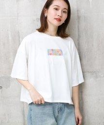 SocialGIRL/ロゴ刺繍ビックTシャツ/502362840
