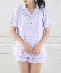 LACEEQ/天竺開衿半袖シャツ&ショートパンツset/502363336