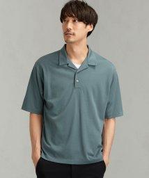 green label relaxing/CM ☆ドライ ウールミックス オープン カラー ポロシャツ/502363995