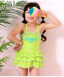 ANAP KIDS/パイン柄3段フリルワンピース/502364044
