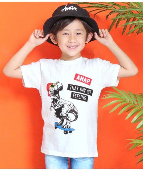 ANAP KIDS(アナップキッズ)/T-REXプリントTシャツ/0437400003