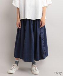 fillil/【ナチュラン掲載】サイドレースアップスカート【ブランド:fillil】/502364642