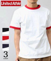 AMS SELECT/【United Athle/ユナイテッドアスレ】5.6オンスバインダーネックリンガーTシャツ/トリムTシャツ/502365905