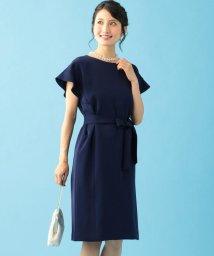 KUMIKYOKU/【PRIER】ドロップショルダーフレア袖 ドレス/502366222