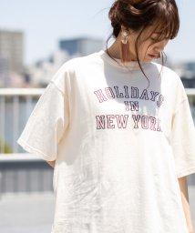 coen/ロゴプリントビッグTシャツ/502366231
