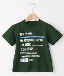 THE SHOP TK(KID)/【100~150cm】WEEK Tシャツ/502366879