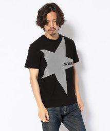 AVIREX/【WEB & DEPOT限定】AVIREX ビッグ スター ロゴ Tシャツ/BIG STAR LOGO T-SHIRT*Fサイズはウイメンズ/501431640