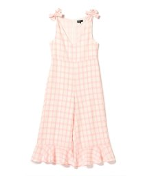 BEAMS OUTLET/sister jane / Lily Check Jumpsuit/502338412