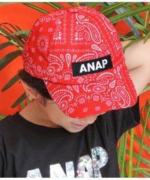 ANAP KIDS/ペイズリーBOXロゴキャップ/502361475