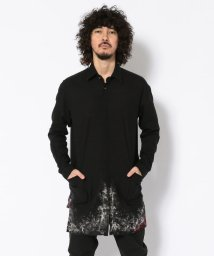 RoyalFlash/【別注】KMRii/ケムリ/Discharged Monolith Shirt/502367171