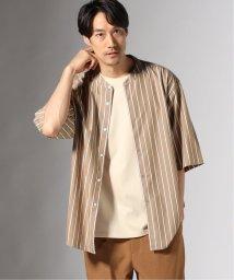 JOURNAL STANDARD/PATTERN バンドカラー ショートスリーブシャツ/502367537