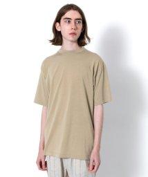 SENSE OF PLACE/バックフォトプリントTシャツ(5分袖)/502369181