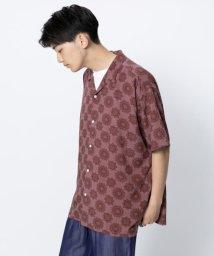 SENSE OF PLACE/バティックルーズシャツ(5分袖)/502369184