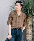 SENSE OF PLACE/コモンガラシャツ(5分袖)/502369185