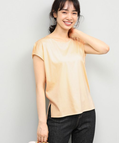 ROPE'(ロペ)/【UVカット】コットンスムースTシャツ/GGM29540