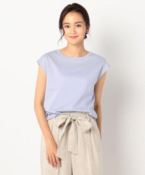 fredy emue(フレディエミュ)/リネン混フレンチTシャツ/9-0021-3-23-001