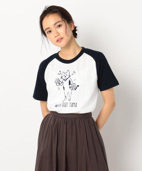 POCHITAMA LAND(ポチタマランド)/WORK OUT TAMA Tシャツ/9-0360-2-20-031