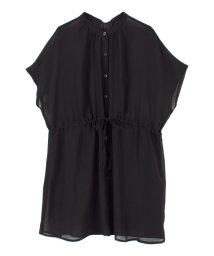 titivate/ドローストリングシアーチュニックシャツ/502370624