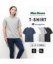 MAC HOUSE(men)/Champion チャンピオン プリントTシャツ C3-M349/502370675
