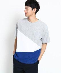THE SHOP TK/カノコ切替ビッグTシャツ/502373164