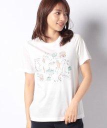 Leilian/刺繍Tシャツ/502319611