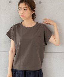PREFERIR/ポケット付きTシャツ/502355323