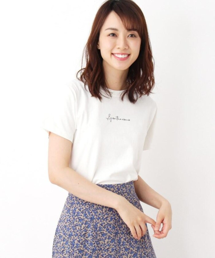 【42(LL)WEB限定サイズ】手描き風ロゴTシャツ