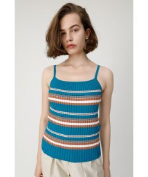 moussy/MULTI BODER KNIT タンクトップ/502374298