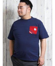 GRAND-BACK/【大きいサイズ】コンバース/CONVERSE キャンパスポケット半袖Tシャツ/502372499
