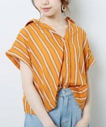 framesRayCassin/ストライプたけのこタックシャツ/502375090
