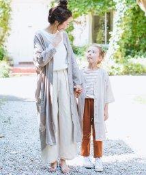 pairmanon/【ママとおそろい】シングルガーゼ シャツ ワンピース/501962311