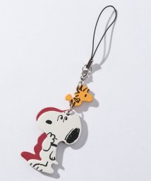 SNOOPY Leather Collection/スヌーピー&ウッドストック ストラップ 立ち/502356314