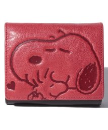 SNOOPY Leather Collection/スヌーピー 革 二つ折り財布/502362962