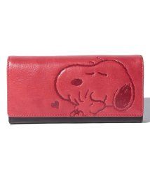 SNOOPY Leather Collection/スヌーピー 革 長財布/502362963
