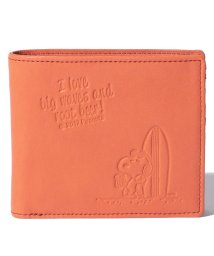 SNOOPY Leather Collection/スヌーピー 革 二つ折り財布/502362966