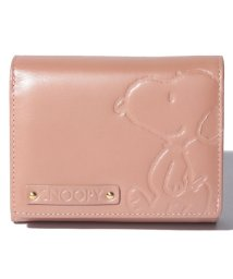 SNOOPY Leather Collection/スヌーピー 革二つ折り財布/502362971