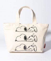 SNOOPY Leather Collection/SNOOPYトートS(3連ねそべり)/502362973