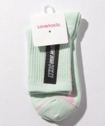 Lovetoxic/カラーテープクルーソックス/502367623