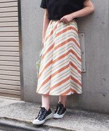 INTERPLANET/【セットアップ対応商品】カラーボーダースカート/502368507