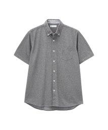 MAC HOUSE(men)/SARARI COOL 鹿の子ニットボタンダウン 半袖シャツ NG193-MF010/502374559