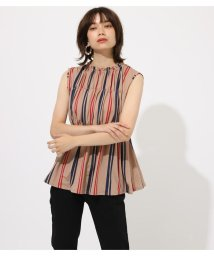 AZUL by moussy/ESPANDY SHIRRING TOPS/502376379